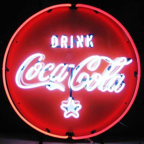 Neon Coca Cola   Coke Neon Signs   Neon Clocks
