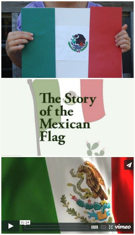 Story of Mexican Flag- Kid World Citizen   Mexican flags ...