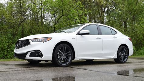 acura tlx  spec sh awd  performance drive review