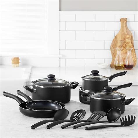 stick non cookware amazon kitchen amazonbasics piece pans pots nonstick utensils cook dining india