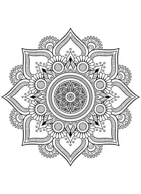 dibujos  colorear  imprimir mandalas  ninos imagenes totales