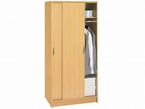 Penderie Porte Coulissante : armoire penderie portes coulissantes miroir armoire ~ Dallasstarsshop.com Idées de Décoration