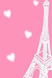 Eiffel tower pink background | Iphone 5 wallpapers and ...