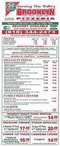 "Brooklyn Pizza & Italian Food ""The Best Pizza in the San"