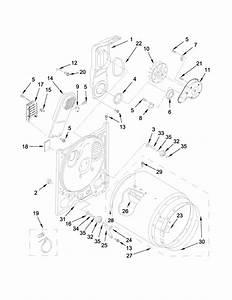 Kenmore 110c60122511 Dryer Parts