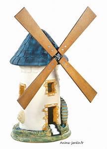 Moulin Deco Jardin : moulin vent ardoise d coration de jardin 68 cm achat pas cher ~ Teatrodelosmanantiales.com Idées de Décoration