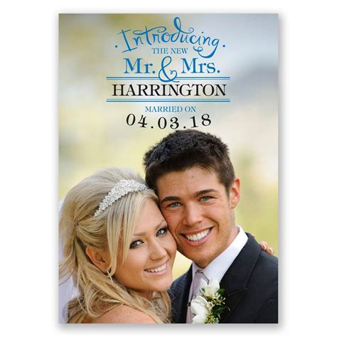 introducing wedding announcement invitations  dawn