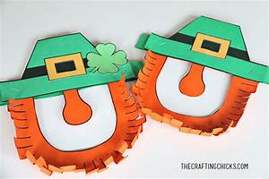 leprechaun mask printable the crafting chicks With leprechaun mask template