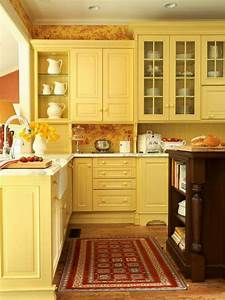 80 cool kitchen cabinet paint color ideas noted list With kitchen colors with white cabinets with yellow metal wall art