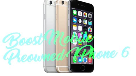 iphone 6 for boost mobile 35 my pre owned boost mobile 16gb iphone 6