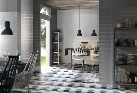 hexagonal kitchen floor tiles traditional kitchen