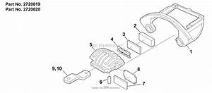Bunton  Bobcat  Ryan 942301 Zero Turn Riding Mower Parts Diagram For Brake Assembly