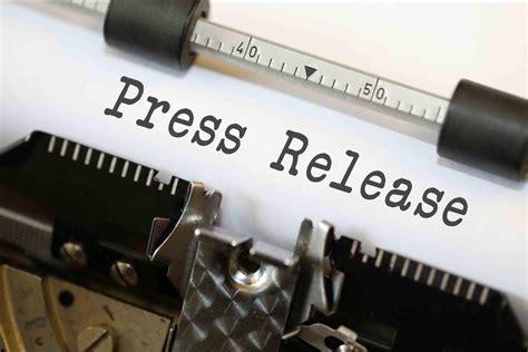 Press Release - Typewriter image