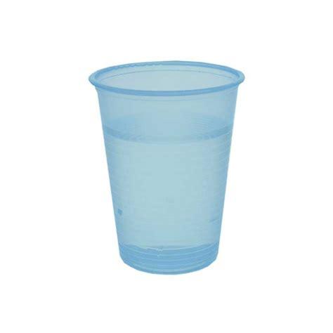 sous transparent bureau gobelet à eau en plastique bleu transparent 20 cl par
