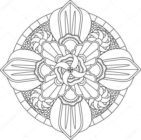 Cirkel Kleurplaten Volwassenen by Mandala Kleurplaat Volwassenen
