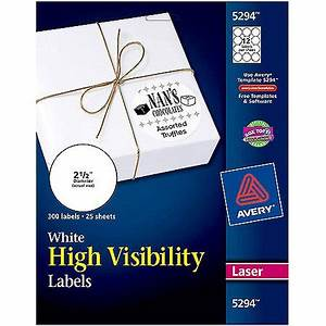 avery high visibility round laser labels 5294 2 1 2 With avery 1 5 round labels