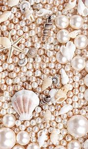 Pink Pearls and Sea Shells | Pearl wallpaper, Pretty ...