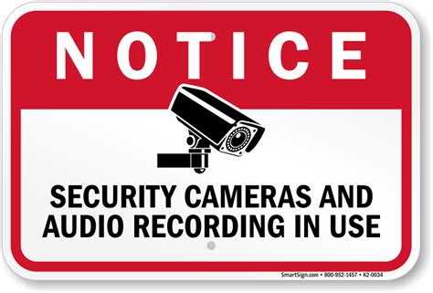 Cctv Surveillance Signs