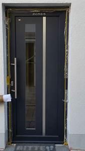 Haustür Kunststoff Anthrazit : moderne haust r anthrazit fenster t renbau nachtwey ~ Frokenaadalensverden.com Haus und Dekorationen