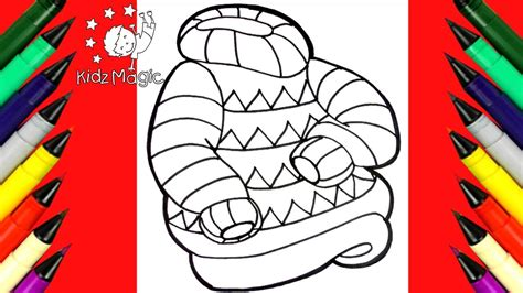 How To Draw And Color A Christmas Sweater 💕 Coloring Pages