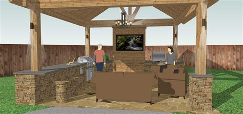 plans for outdoor kitchens free outdoor kitchen plans h6xa 3494