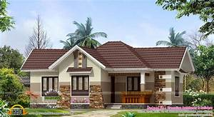 Nice Small House Exterior Kerala Home Design Floor Plans