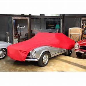Movendi Car Cover : car cover satin red f r mercedes 230sl 280sl pagode ~ Jslefanu.com Haus und Dekorationen