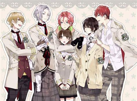 josei anime eng sub kaji ichiha zettai kaikyuu gakuen with roses and