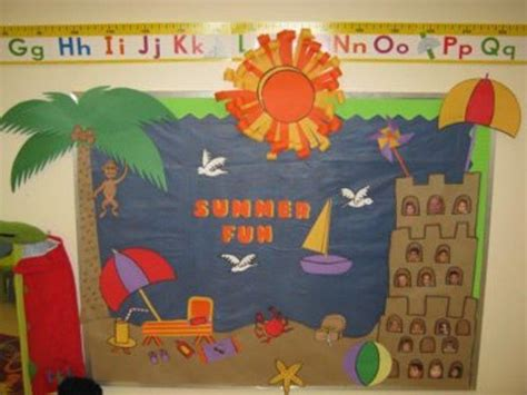 preschool summer door decorations sailboat july bulletin 289 | e261a9ef5ef147edfa10f4ba6d18a4c2