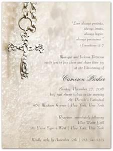 Blessed Sacrament Baptism Christening Invitations - Storkie