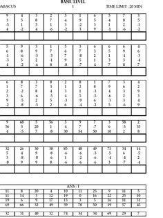 abacus images math worksheets abacus math math