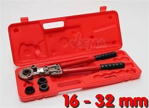 Pince A Sertir Cuivre : pince sertir pour tuyau per et pex de 16 32 mm ~ Voncanada.com Idées de Décoration