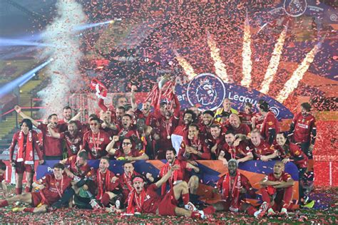 Premier League Champions Liverpool celebrate in style