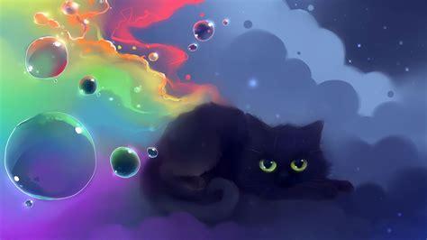 cute black cat wallpaper hvgj gatti animali