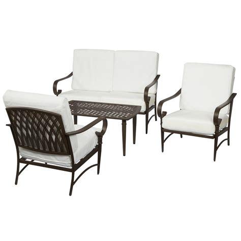 sunjoy fairbanks brown patio conversation set