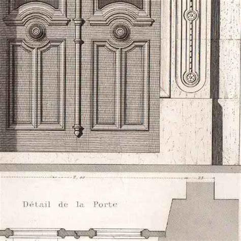 gravures anciennes dessin d architecte architecture maison au 38 rue placide 224