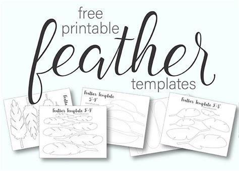 printable turkey feather patterns templates