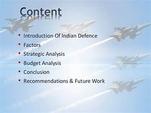 INDUSTRY ANALYSIS OF INDIAN DEFENCE SECTOR - Final