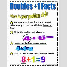 Lasota's Little Learners Doubles Plus 1 Facts