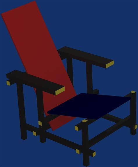 La Chaise Et Bleue by La Chaise Et Bleue De Rietveld