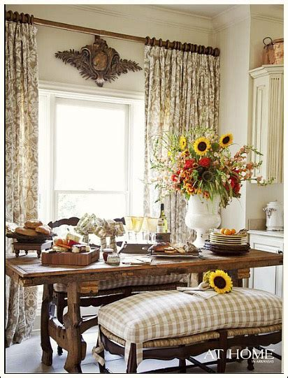 black and white checkered valance country decorating ideas