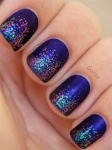 100 and easy glitter nail designs ideas to rock this