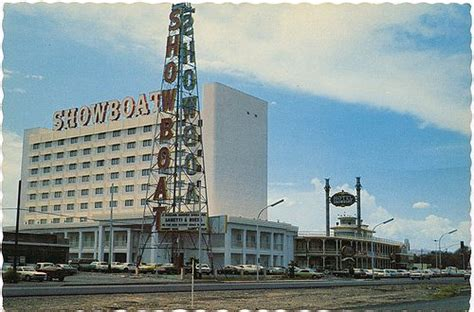 Casino Boat Wi by Showboat Vegas Then And Now