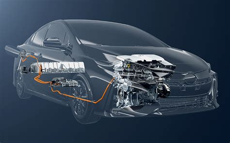 Hybrid Technology by In Hybrid System In The Toyota Prius Phv