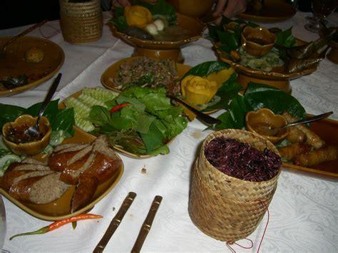 cuisine laos file typical laotian food jpg