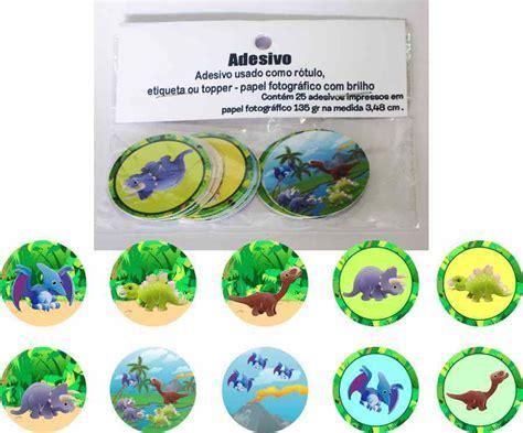 Dinossauros 15 Adesivos No Elo7
