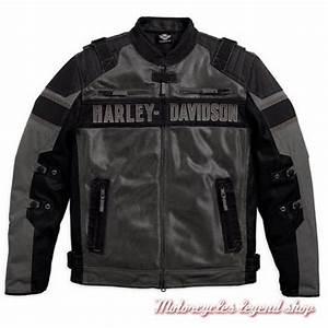 Blouson Moto Homme Textile : harley davidson blousons moto vestes pour hommes motorcycles legend shop ~ Melissatoandfro.com Idées de Décoration