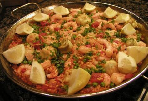 cuisine paella paella recipe food com