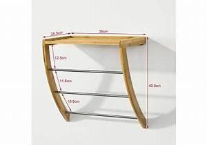 Porte serviette bois Acheter Porte serviette bois en ligne sur Livingo