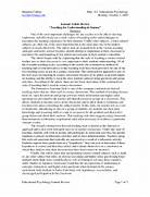 Apa Reference Page Example Journal Article Example Of Journal Article In Apa Format Cover Letter